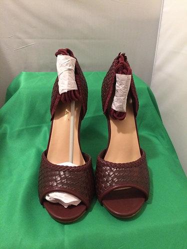 Dark Red Sandals