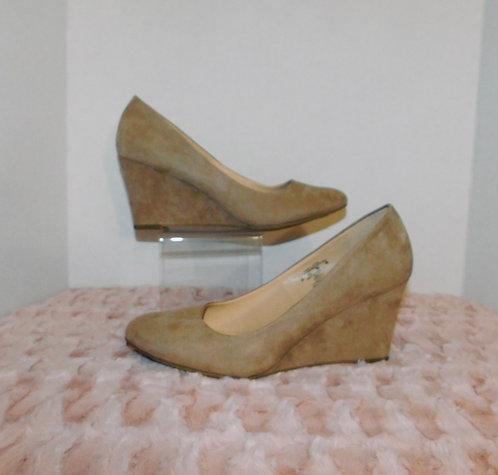 Cream Wedges Heels