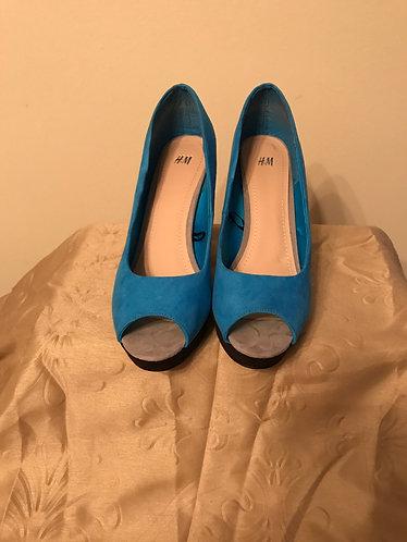 Blue H&M Heels