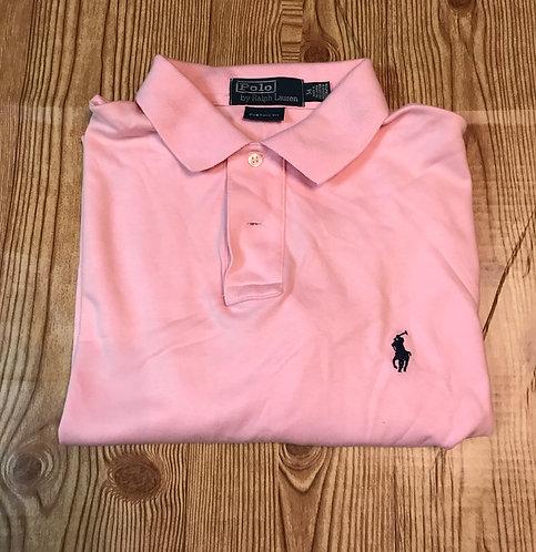 Men's Pink Poli
