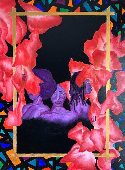 Gladiolus (Print)