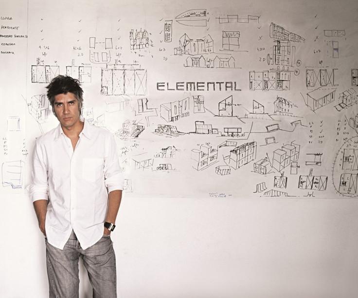 Alejandro Aravena um Pritzker para a arquitectura social.