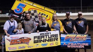 Lee wins OCRS season finale at Caney Valley Speedway