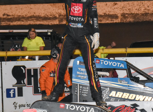 McIntosh Dominates at Port City Back in the Family Owned Car