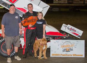 Easum picks up first AmeriFlex / OCRS victory at Humboldt Speedway