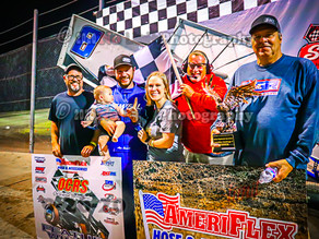 Sewell becomes first repeat AmeriFlex / OCRS Challenge winner
