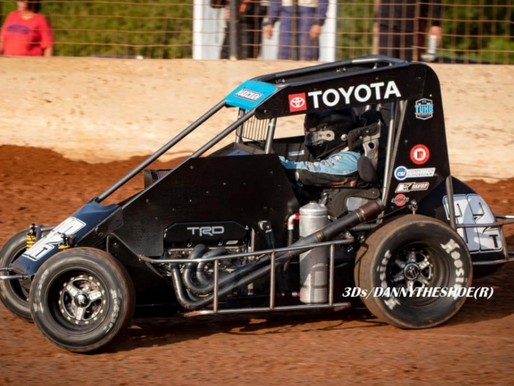Marcham Marches to POWRi West Victory at I-44 Riverside Speedway
