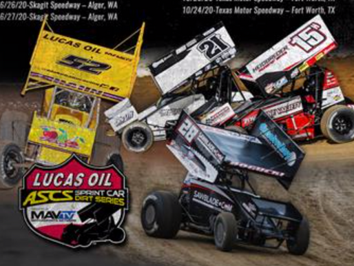 First Round Of 2020 Lucas Oil American Sprint Car Series Events Revealed