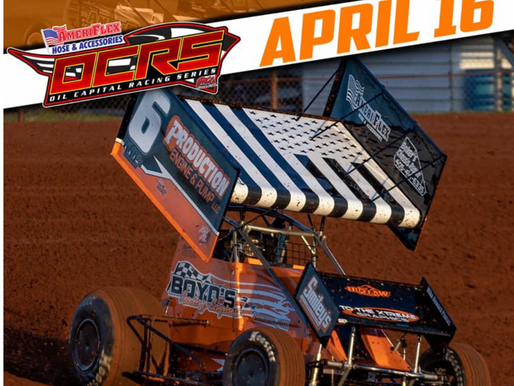 Free grandstand admission for Friday's AmeriFlex / OCRS IMCA show at Outlaw Motor Speedway