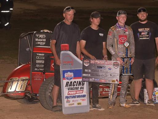 McIntosh Sweeps Win at Sweet Springs Motor Complex