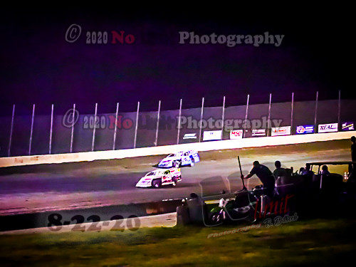 8-22-2020 action from Salina Highbanks Speedway by Brenda Dilbeck
