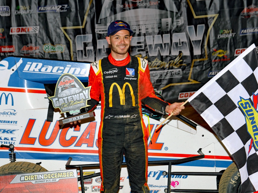 Larson wins night 2 of Gateway Midget Action