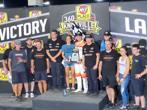 Giovanni Scelzi Makes Late Charge For 360 Knoxville Nationals Prelim Victory