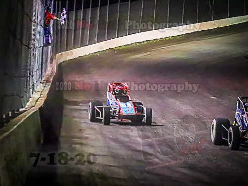 Salina Highbanks Speedway action by Brenda Dilbeck