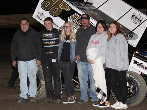 Brandon Anderson Breaks Through With The ASCS Sooner Region While Smith, Foltz, And Jarvis Collect V