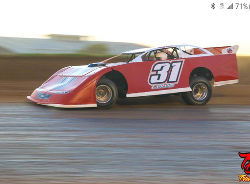 Lowe unstoppable in Sooner Series win at Enid Speedway