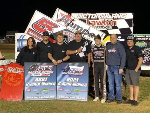 Ryan Timms Dominates ASCS Sooner At Lawton Speedway