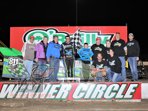 Leonard captures first Sooner victory at 81 Speedway