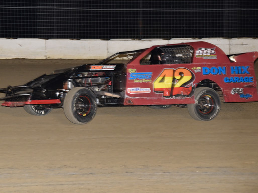 9-26-2020 action from Grayson County Speedway by Jessica Hix