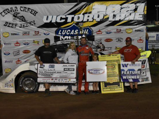 JACKSON GOES BACK-TO-BACK SCORES $10,000 MLRA WIN IN RIVERCITY RUMBLE