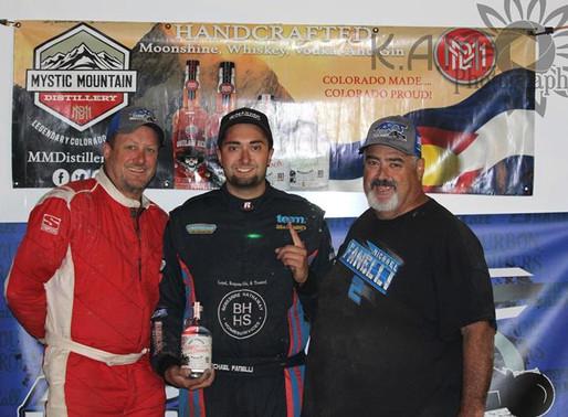 It's Fanelli With ASCS Elite North Non-Wing At El Paso County Raceway