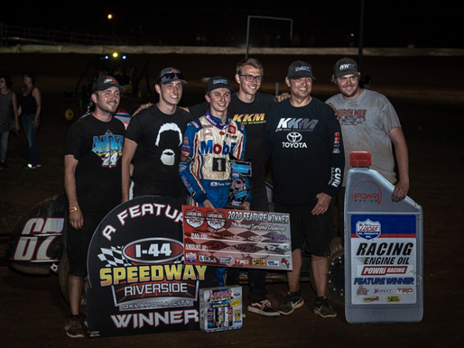 Kofoid Claims First Career POWRi Win in Turnpike Challenge