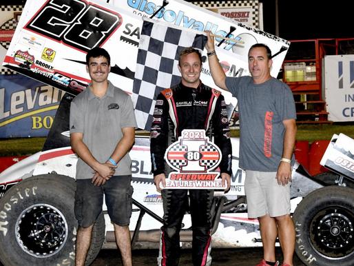Scott Bogucki Dominates The Bobby Parker Memorial At I-80 Speedway