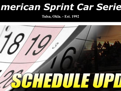 Heavy Rain Pushes Creek County Speedway Fall Fling To November 6, 7, and 8