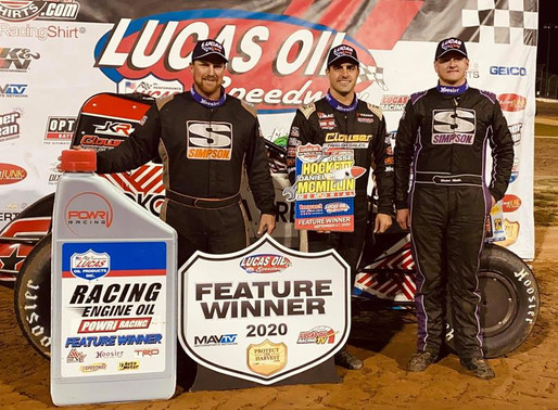 Mario Clouser Maneuvers to Night One Victory at the 10th Annual Hockett/McMillin Memorial