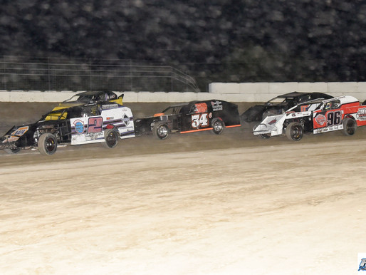 8-22-2020 action from Grayson County Speedway by Debra Hix