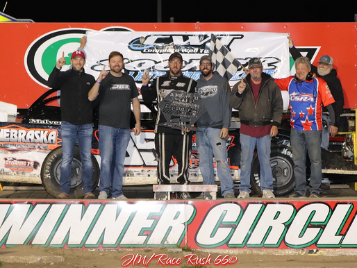Late restart aids Leonard in Sooner Late Model victory at 81 Speedway