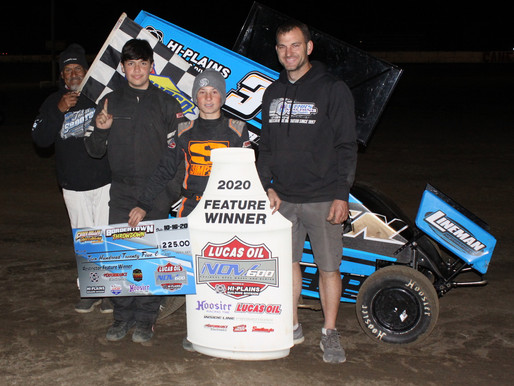 10-16-2020 winners at Caney Valley Speedway by Richard Bales