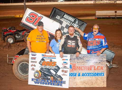 Wills not to be denied in OCRS feature at Monarch Motor Speedway