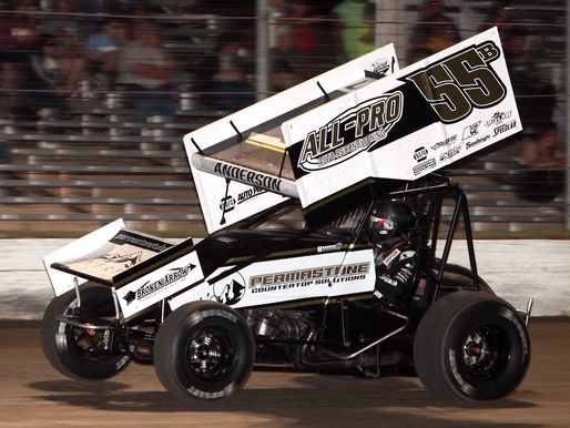 Brandon Anderson Leads Flag To Flag With ASCS Sooner At Humboldt Speedway