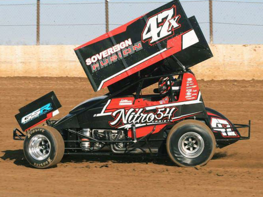 Victory For Westbrook With Lucas Oil American Sprint Car Series At Lake Ozark Speedway