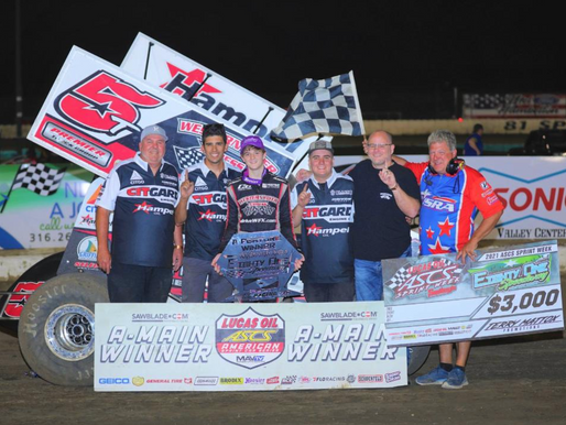 Ryan Timms From 11th Wins At 81-Speedway With The Lucas Oil American Sprint Car Series