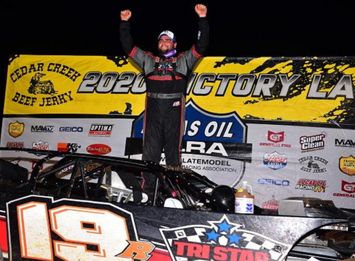 GUSTIN STAYS HOT--SCORES MLRA FALL NATIONALS NIGHT #1 WIN