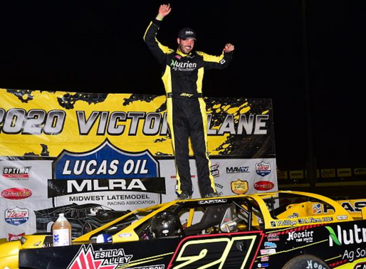 MOYER JR. SCORES MLRA VICTORY WHILE HURST SNAGS POINT LEAD