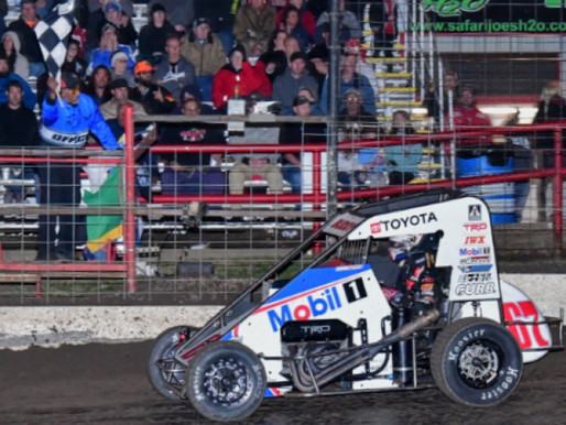 SUPER KOFOID: BUDDY CHARGES FROM 16TH TO WIN AT PORT CITY