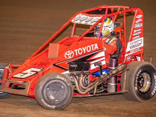 Daum Adds to Career POWRi Victory Lane Visits at Valley Speedway