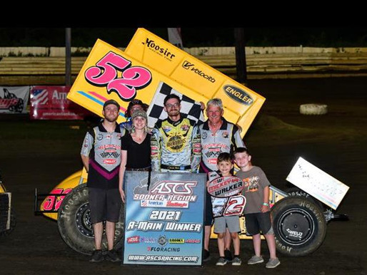 Blake Hahn Captures The Inaugural Mickey Walker Classic At Creek County Speedway