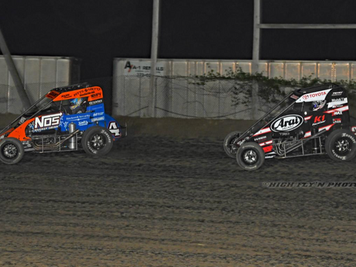 Grant Gains POWRi Glory at Valley Speedway