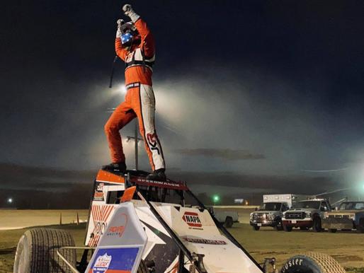Mario Clouser Claims Charleston SpeedwayVictory with POWRi WAR