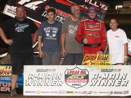 Dylan Westbrook Finally A Winner With The Lucas Oil American Sprint Car Series