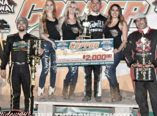 Sterling Cling Holds On For Copper Classic Score With The ASCS Desert Non-Wing Series
