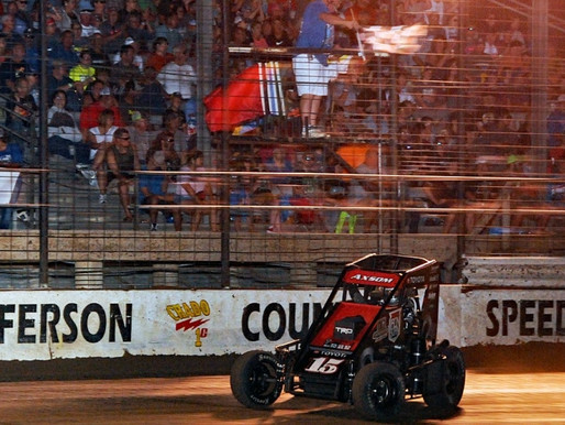 Axsom Aces UAC Midwest Midget Championship Finale at Jefferson County Speedway!