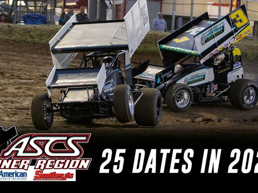 ASCS Sooner Reveals 25 Race Lineup For 2021 Season