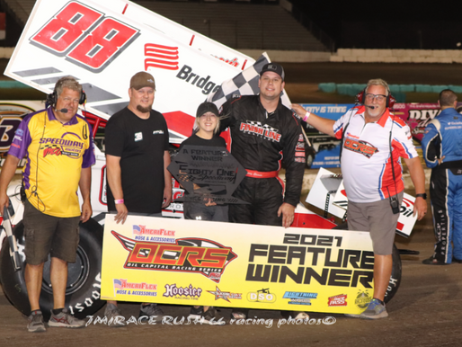 Easum will long remember his victory Saturday at 81 Speedway