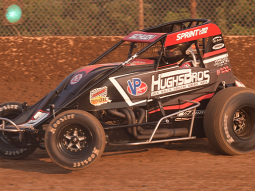 Schudy Scores Second Straight Feature Win at Lake Ozark with POWRi WAR