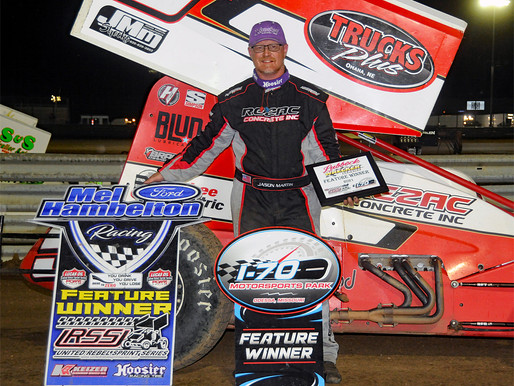 Martin Masters Lubbock Wrecker Service 305 Nationals Night Two at I-70!